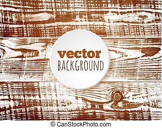 Vector brown wooden texture