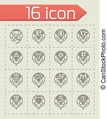 Vector Browser icon set
