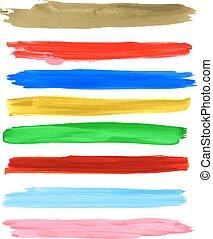 Vector brush strokes 1