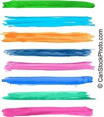 Vector brush strokes 2