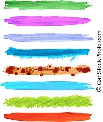 Vector brush strokes 3