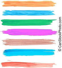 Vector brush strokes 4