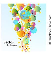 vector bubble background