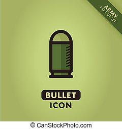 Vector bullet icon