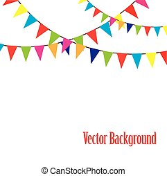 bunting - vector bunting
