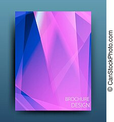 Vector business brochure flyer template or corporate banner ...