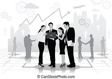 Vector Business Meeting