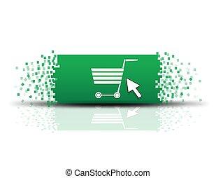 Vector buy now button, eps10