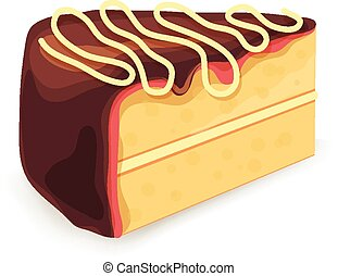 Vector cake illustration