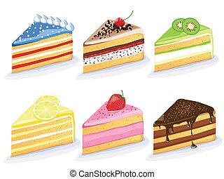 Vector cakes