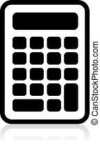 vector calculator icon, vector