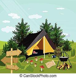 Vector camp