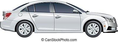 Vector car - Modern Vector Car. Available EPS-10 vector...
