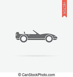 Vector Car Icon - Vector Car Illustration in High Quality...