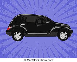 Vector car