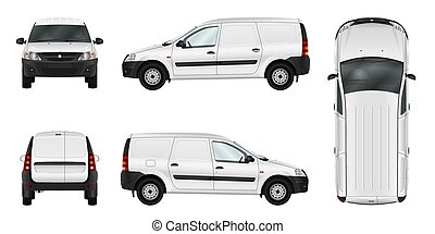 Vector car template