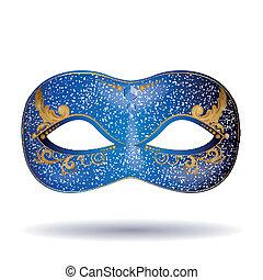 Vector Carnival Mask