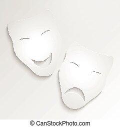 Vector Carnival Masks