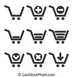Vector cart icons