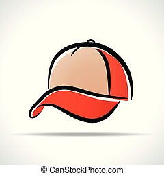 cap design on white background