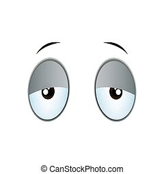 Vector Cartoon Eyes