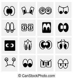 Vector Cartoon icon set