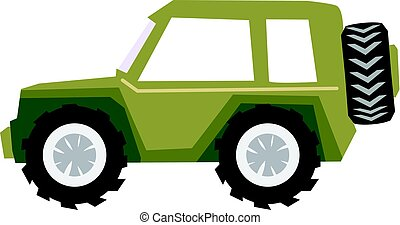 off-road car