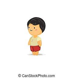Cute Chibi Boy