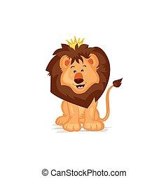 Cute Lion King