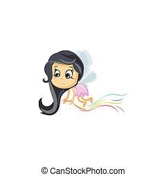 Little Fairy of Colors
