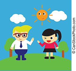vector afternoon vector clipart royalty free 5 308 vector afternoon rh canstockphoto co uk have a good afternoon clipart good afternoon clipart