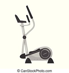 illustration of elliptical trainer