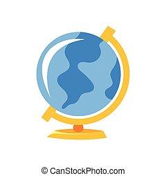 illustration of globe.