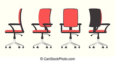 illustration of office chair