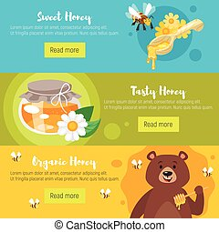 honey banners template