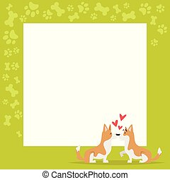 video and photo frame background - Vector cartoon style ...