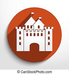 Vector castle icon
