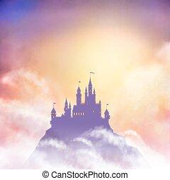Vector Castle Illustration