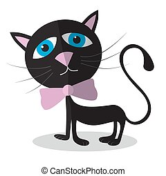 Vector Cat Illustration