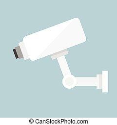 Vector CCTV Video Surveillance Camera