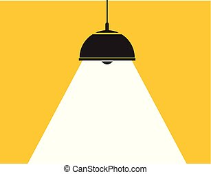 vector ceiling lamp