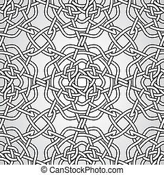 Vector Celtic Seamless Pattern, fully editable eps 10 file...