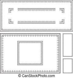 Vector Certificate Frame Set