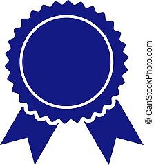 Vector Certificate Seal Icon Illustration