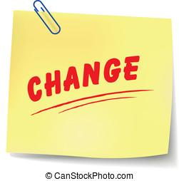 Vector change message
