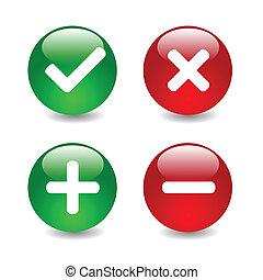 Vector check mark illustration