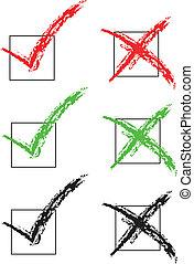 vector check marks