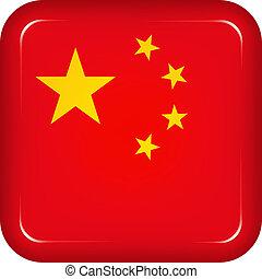 Vector china flag