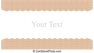 Vector Chinese cloud pattern frame