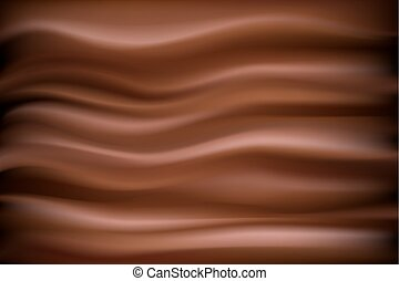 Vector chocolate backdrop